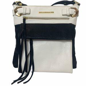 Steve Madden Black & White Crossbody Bag